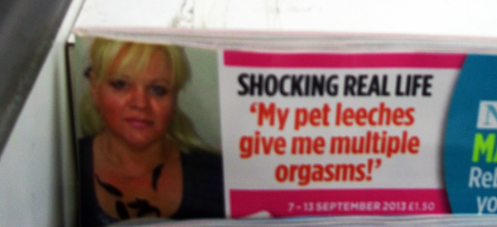 closer magazine leech orgasm story