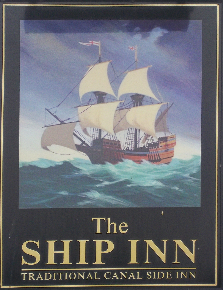 ship inn upper framilode sign