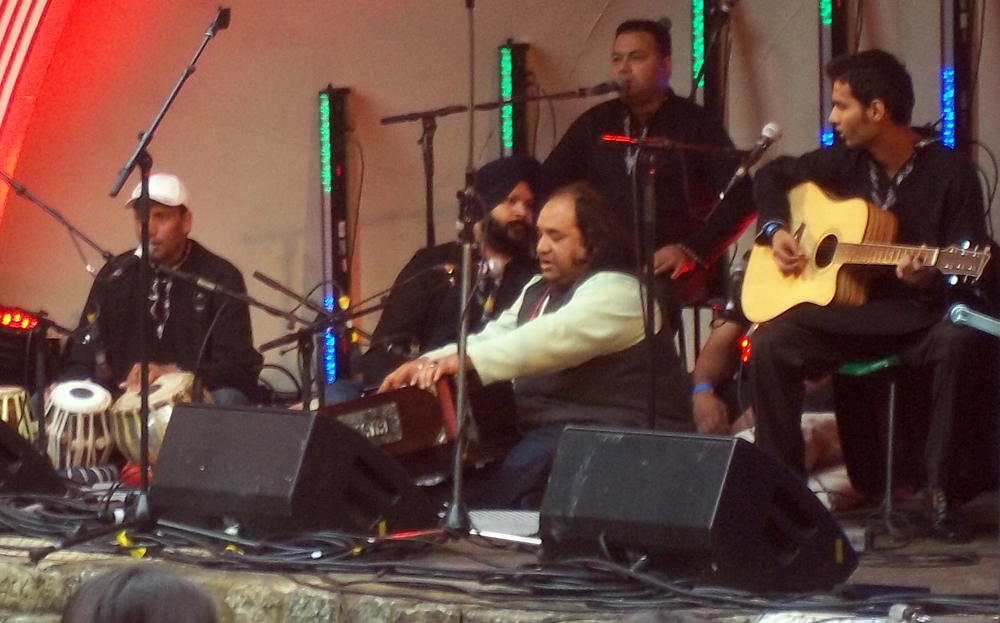 swindon mela 2013 Ameer Ali Khan Qawaali Group a