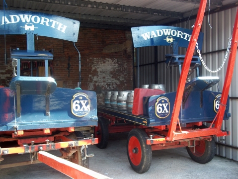 wadworth brewery 16 delivery wagons