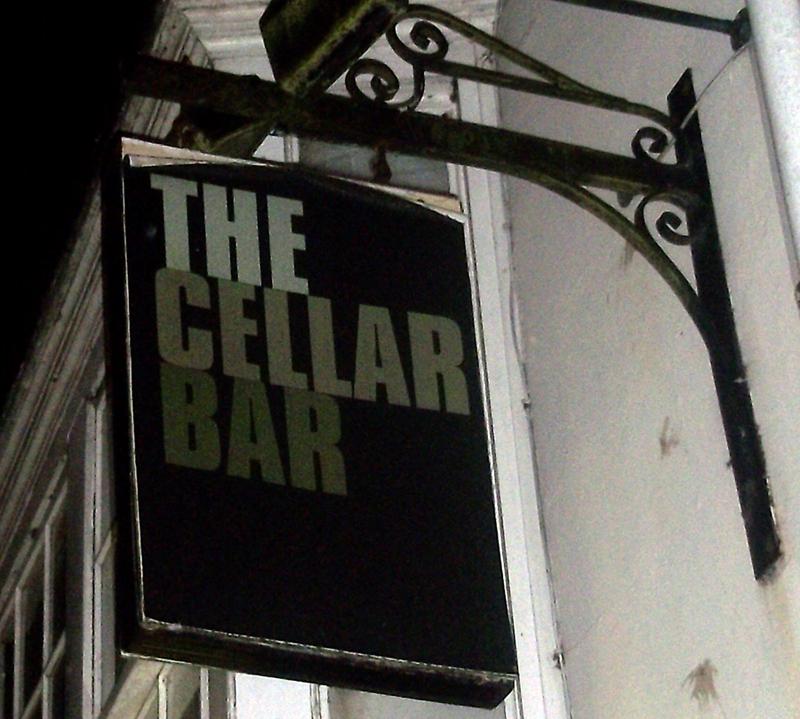 cellar bar highworth sign