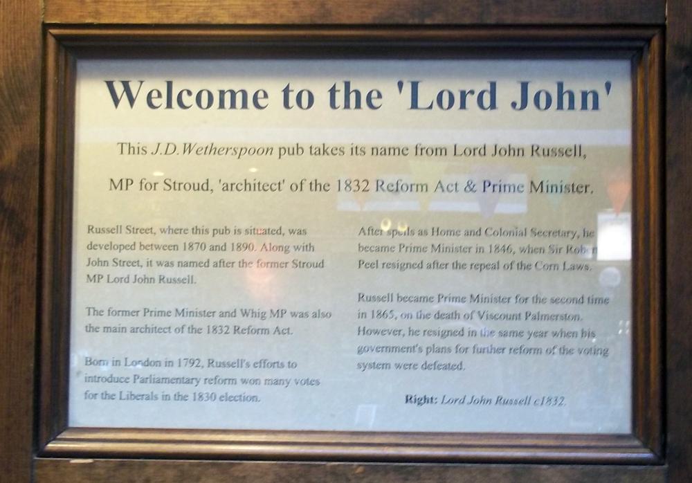 lord john stroud story