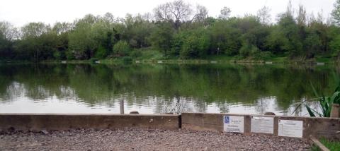 manor swindon pond