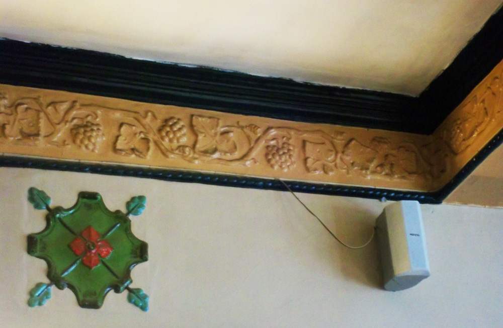 sir audley arms chippenham inside detail