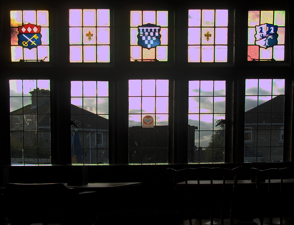 sir audley arms chippenham windows