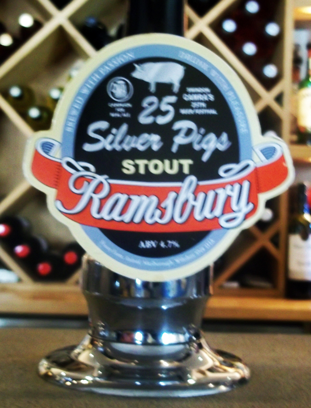 bell ramsbury silver pig stout