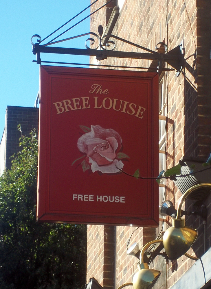bree louise london sign