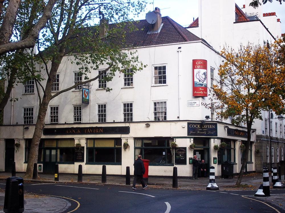 cock tavern euston london