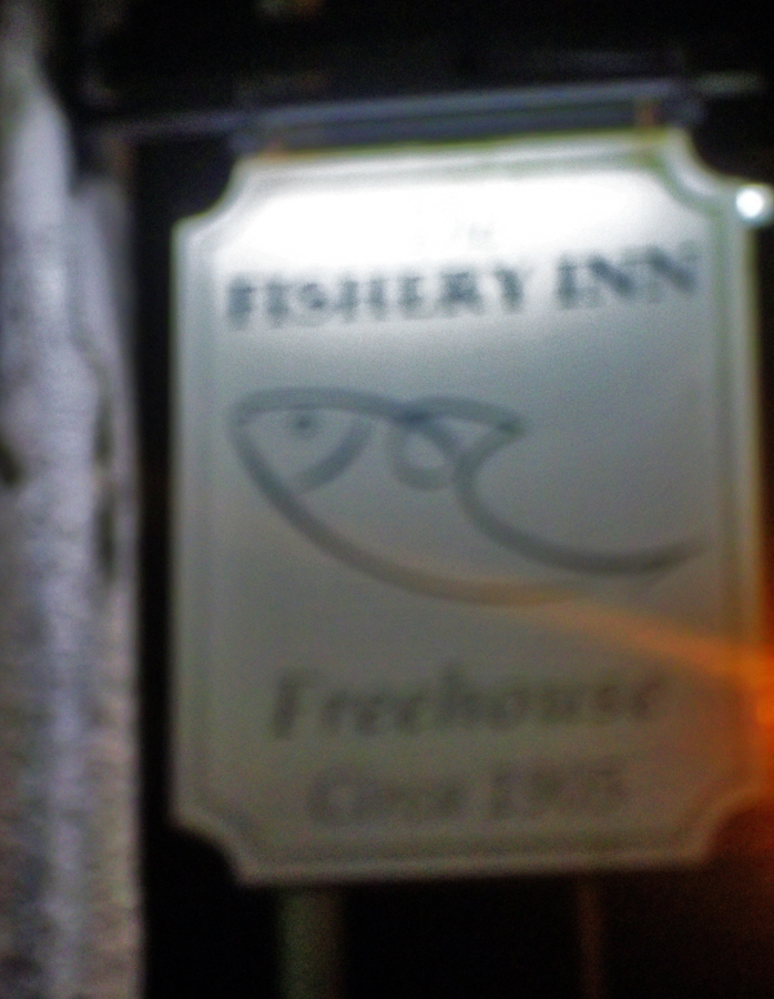 fishery inn hemel hempstead sign