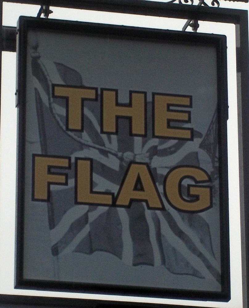 flag watford sign