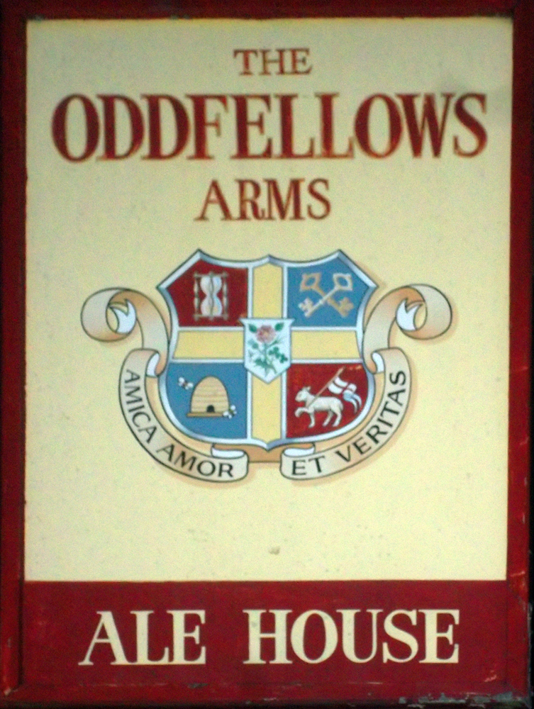 oddfellows arms apsley sign