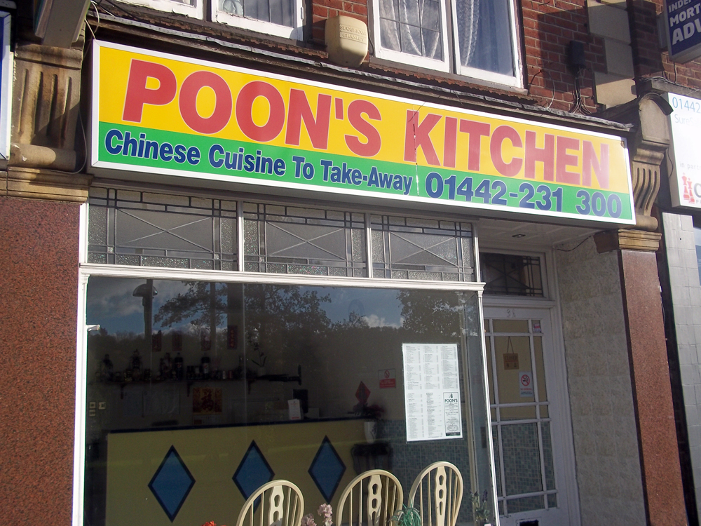 poon's kitchen hemel hempstead