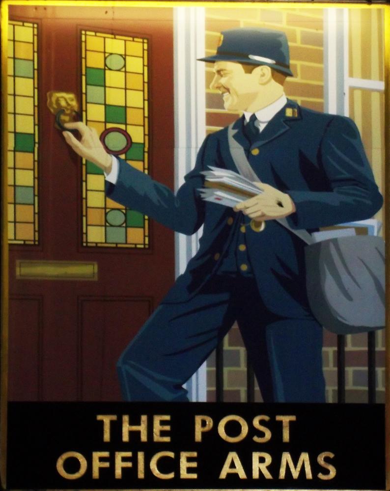post office arms hemel hempstead sign