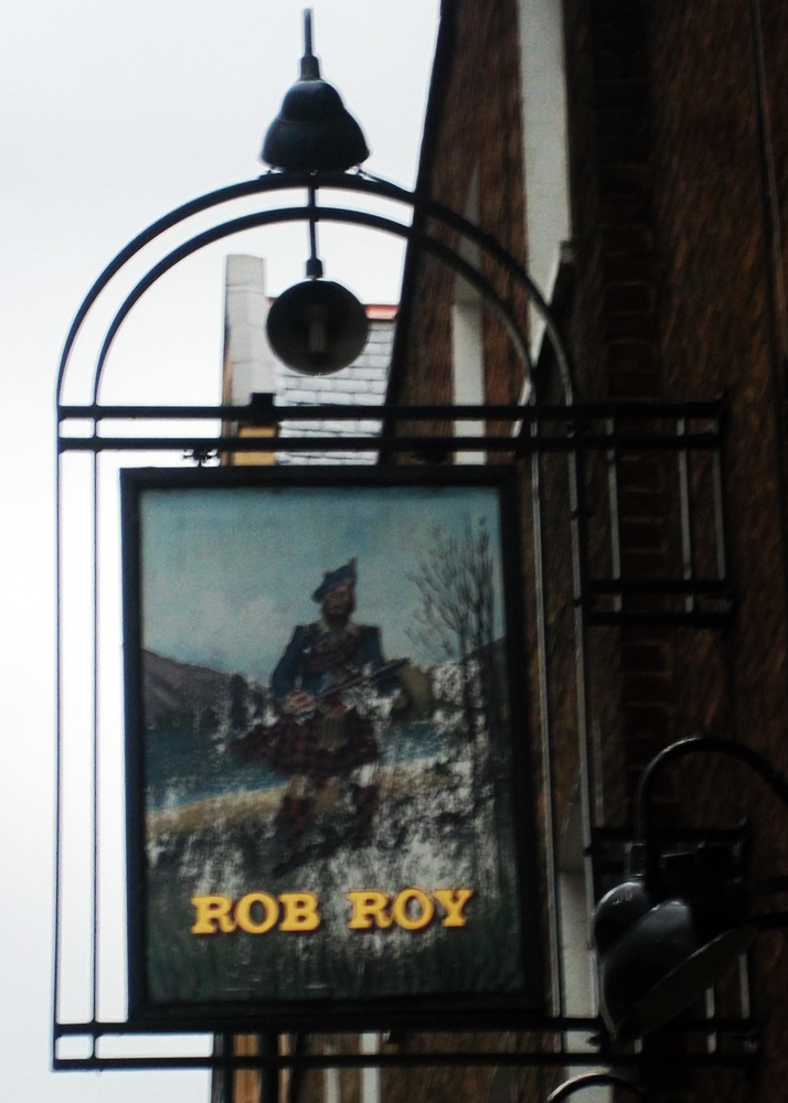 rob roy paddington sign