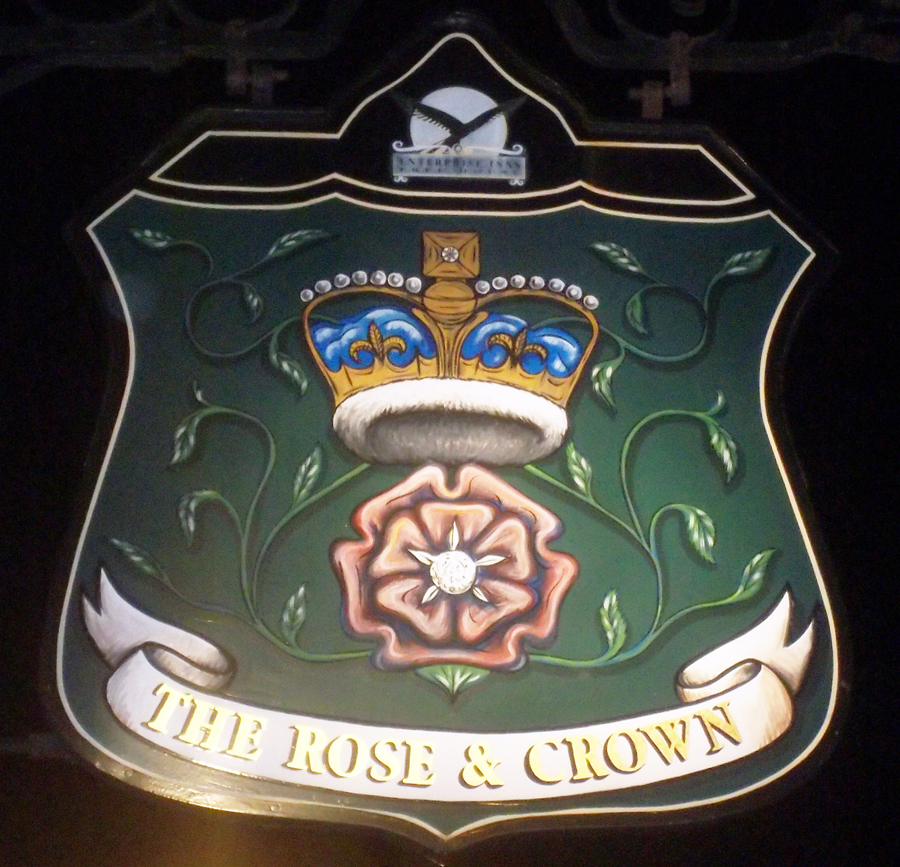 rose and crown hemel hempstead sign