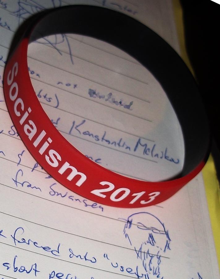 socialism 2013 notebook credentials