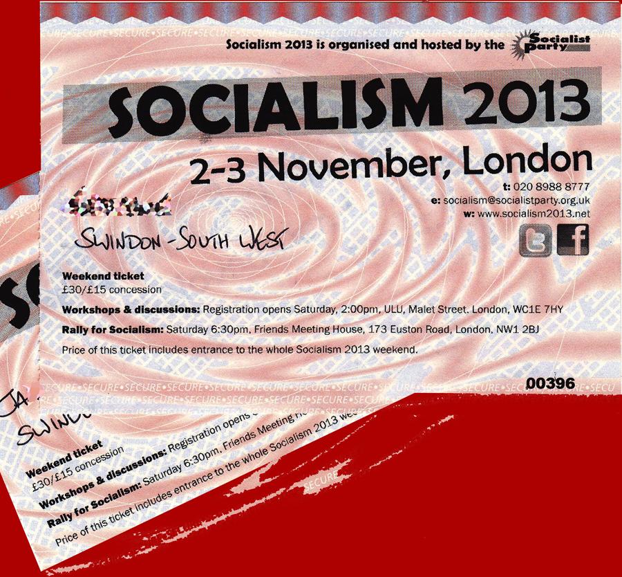socialism 2013 tickets