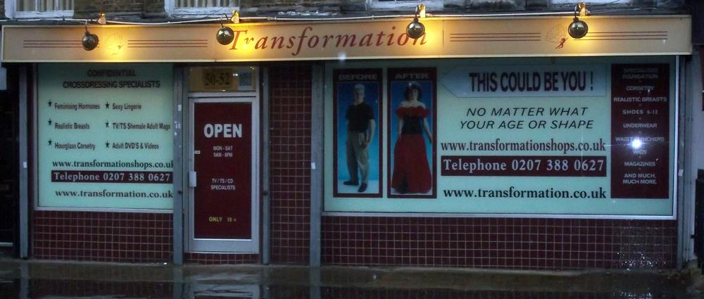 trannie shop