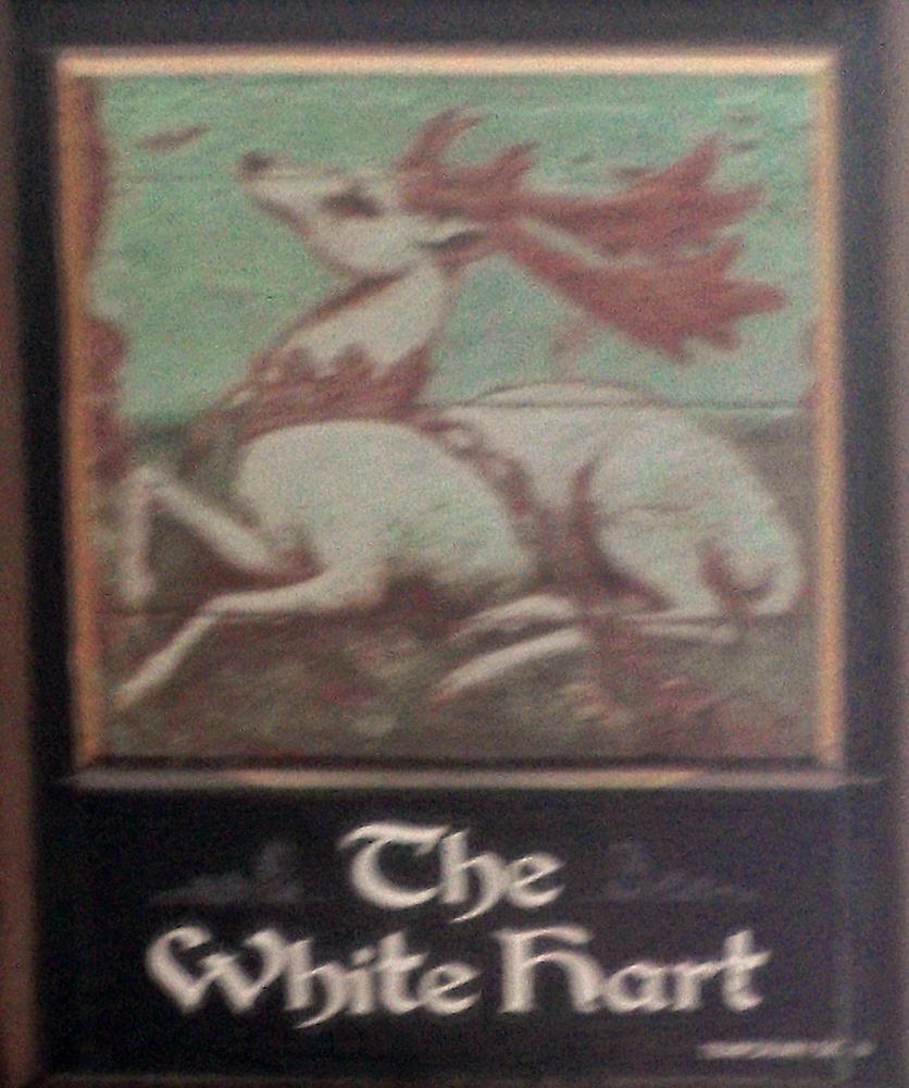 white hart hemel hempstead sign