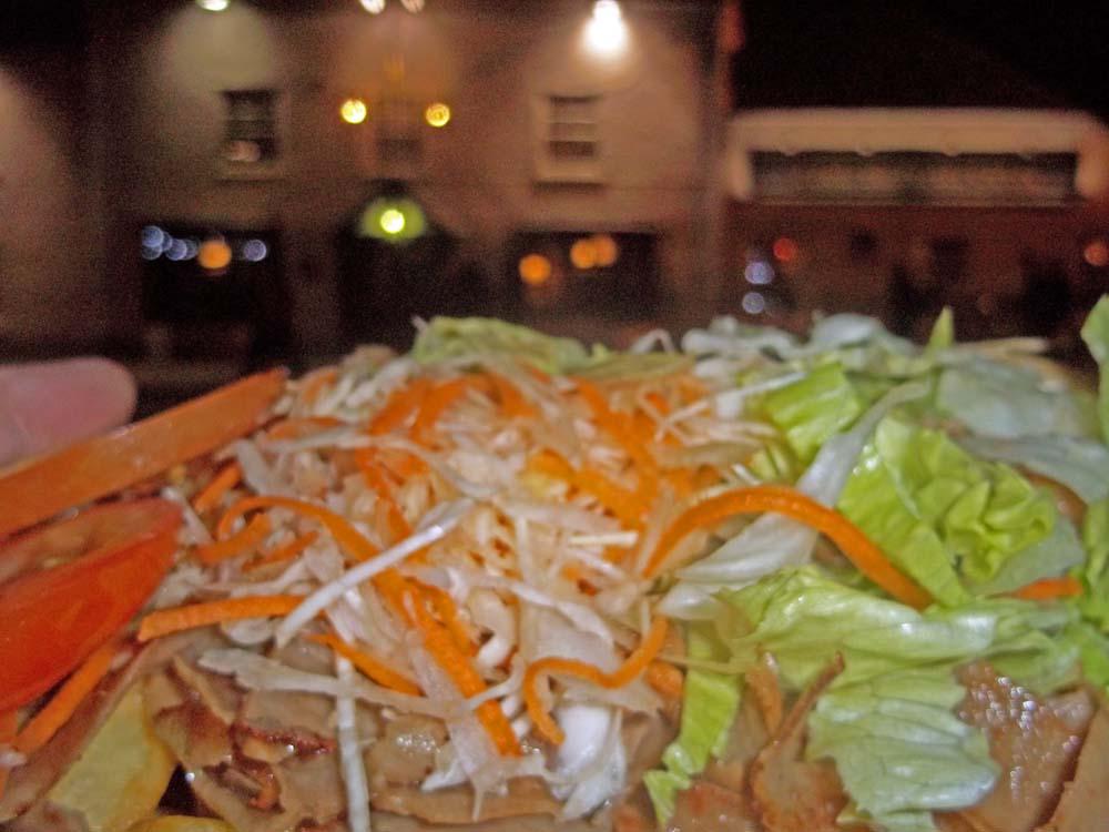 ali's kebab van kebab at royal oak
