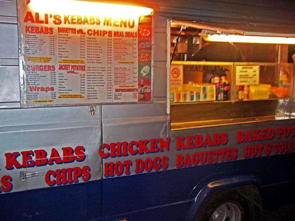 ali's kebab van oxford