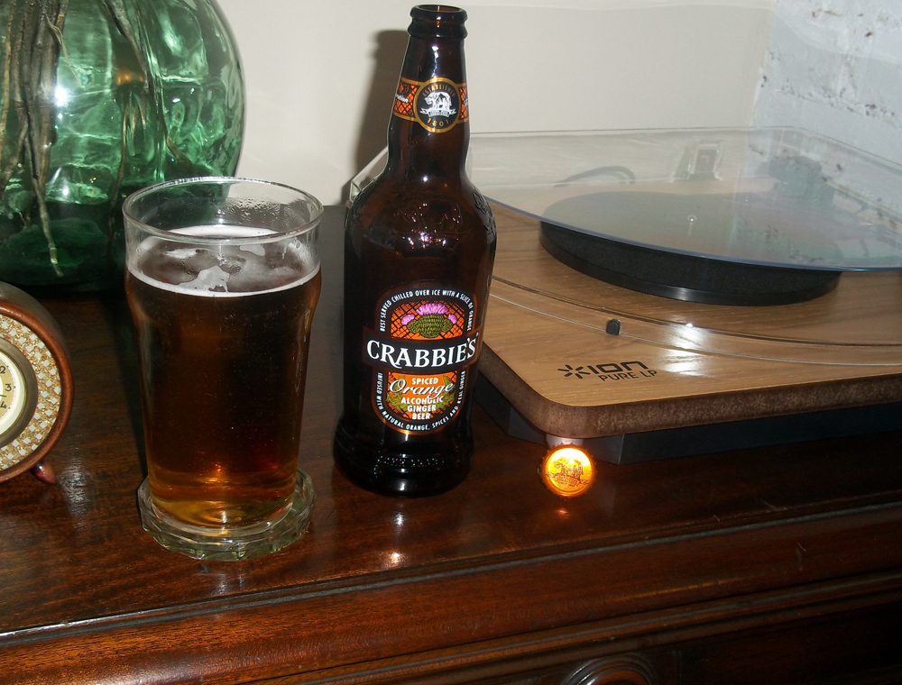 Crabbies orange and spice ginger beer