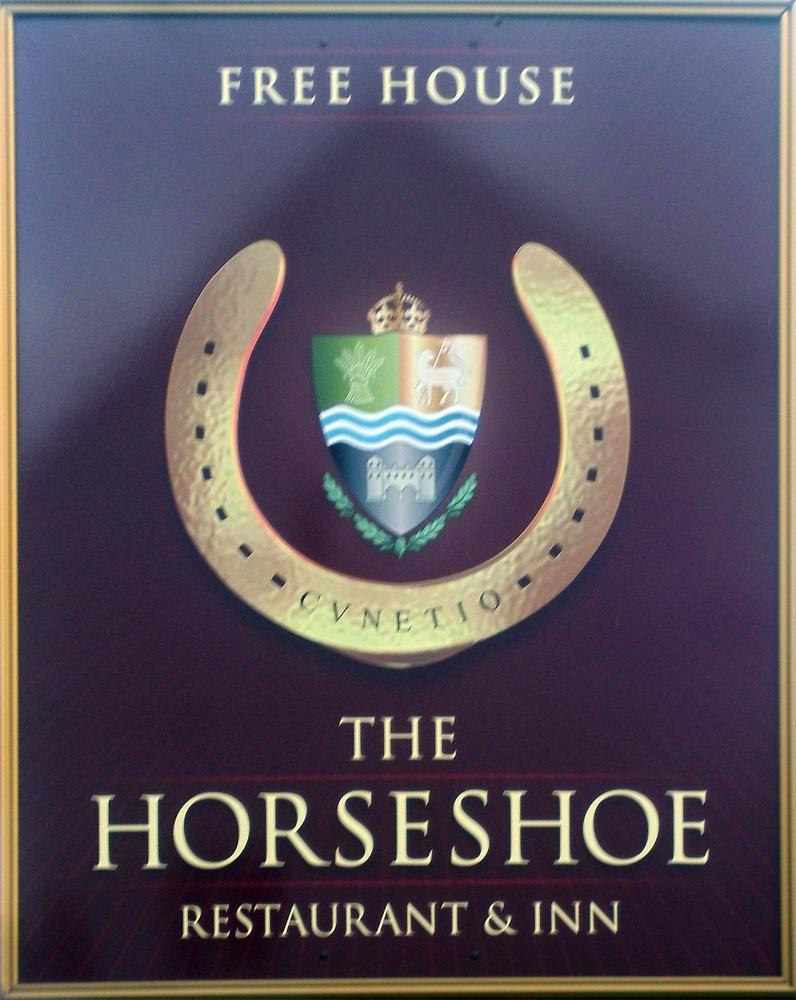 horseshoe mildenhall sign