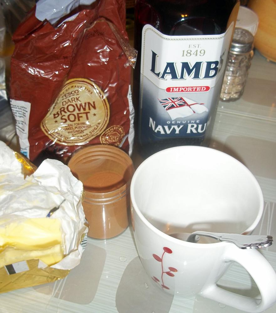 hot buttered rum start