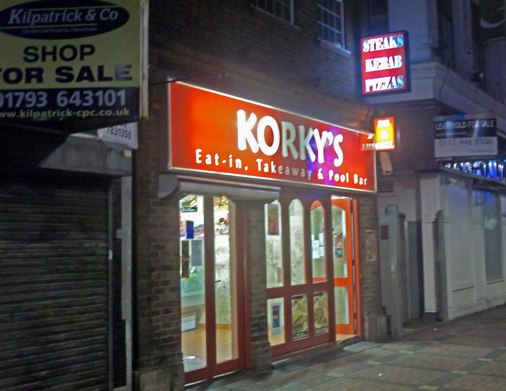 korky's takeaway swindon