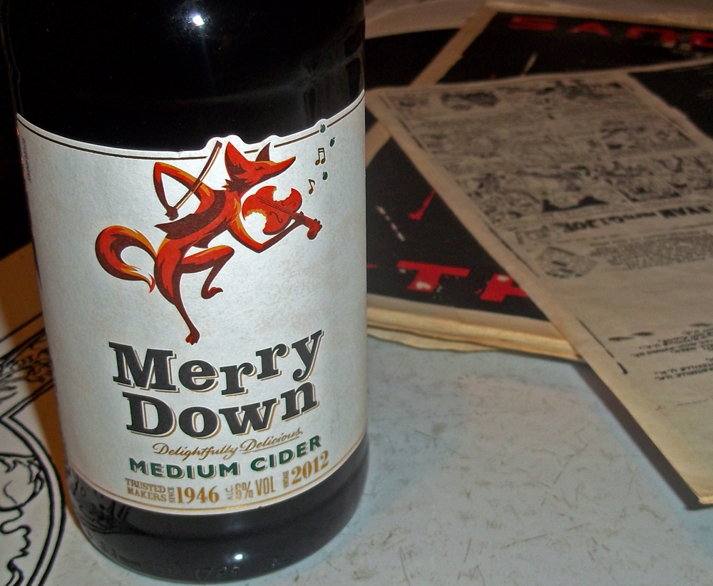 merry down cider