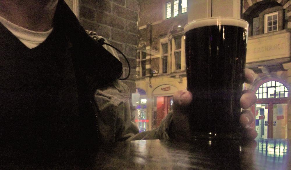 naylor's brewery santa's dark side at fork handles
