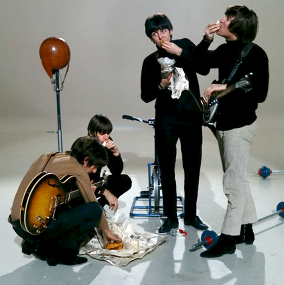 The Beatles fish and chips