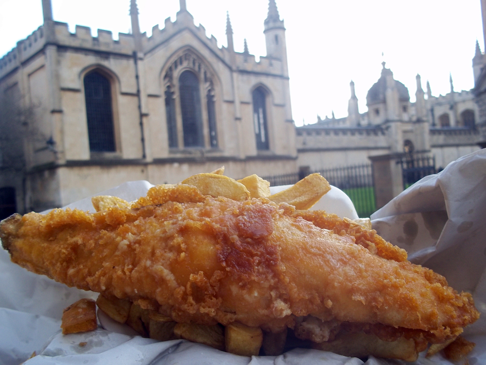 carfax chippy cod at hertford college