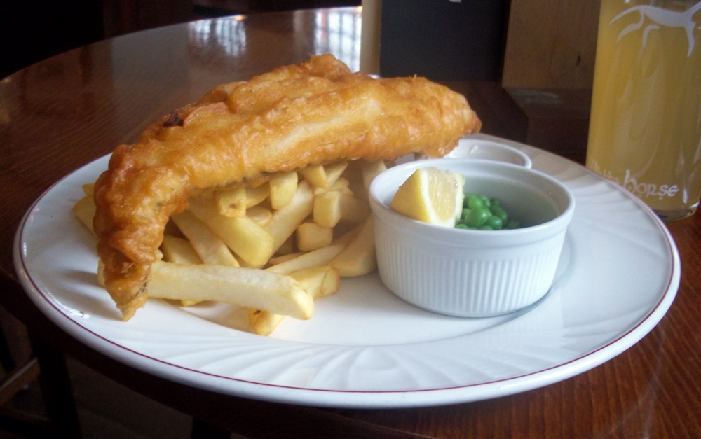 cod and chips royal blenheim oxford