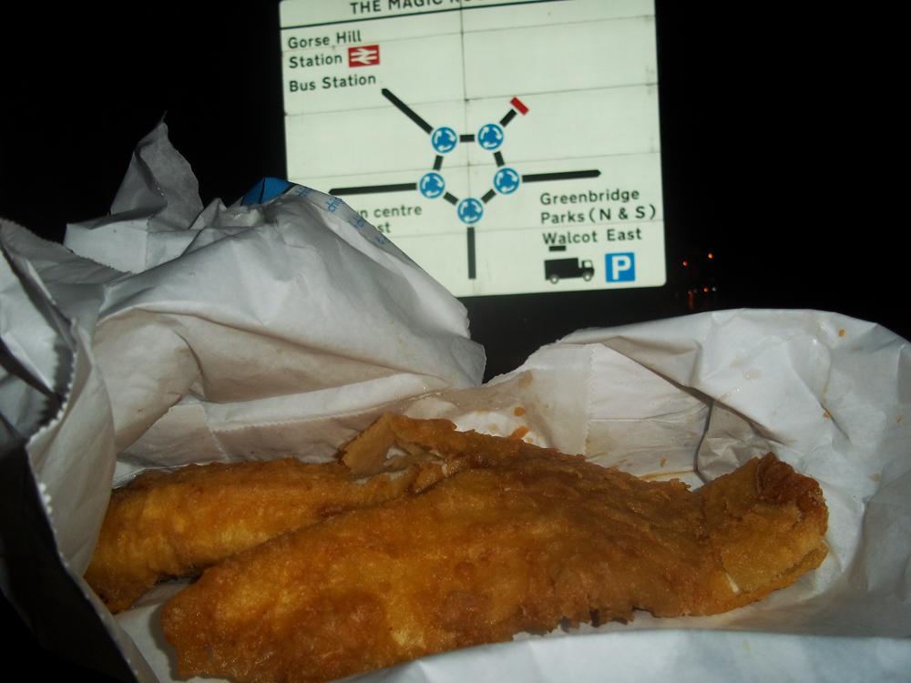 frying fish swindon cod