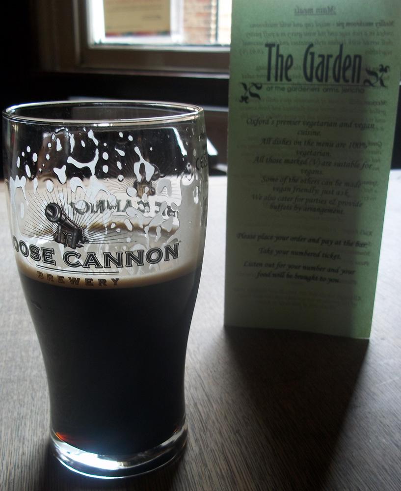 gardeners arms oxford porter and menu