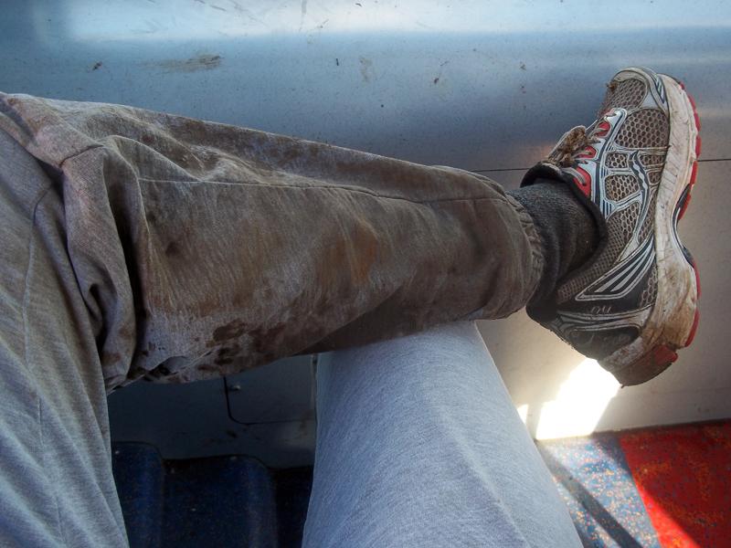 muddy run legs