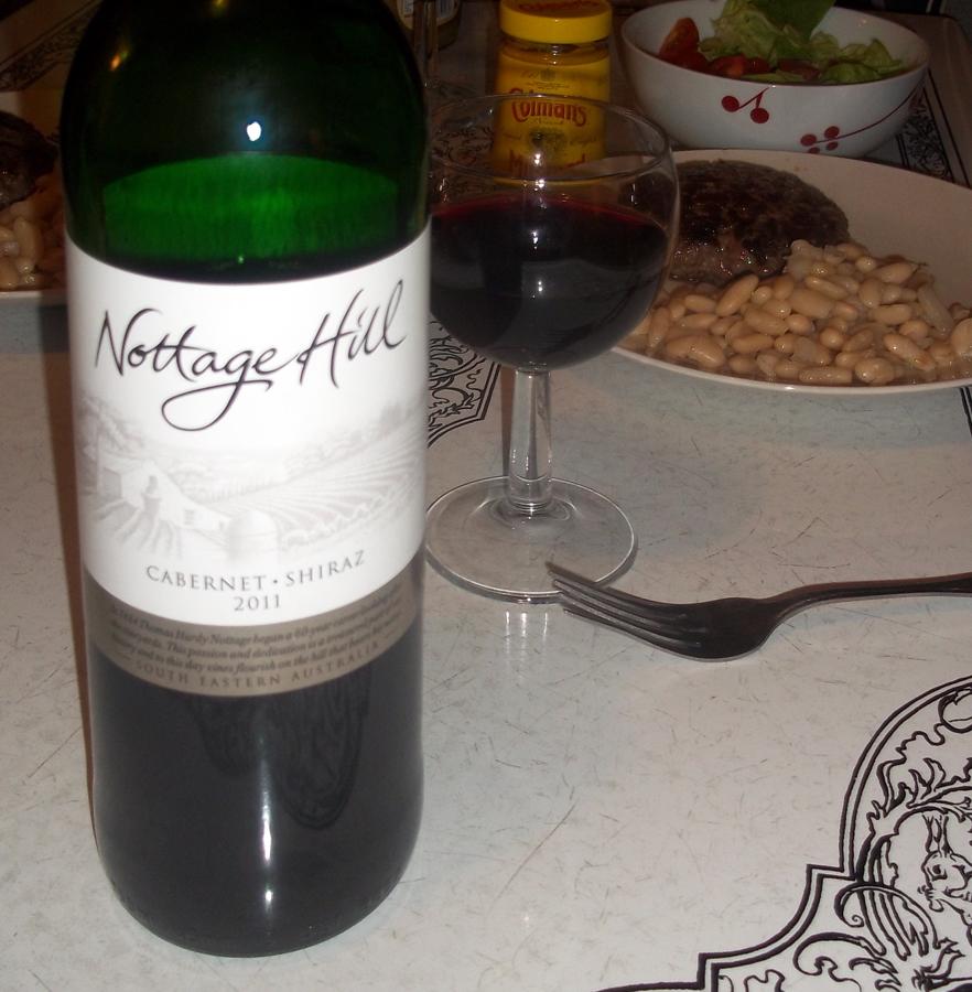 hardy's nottage hill cabsav-shiraz