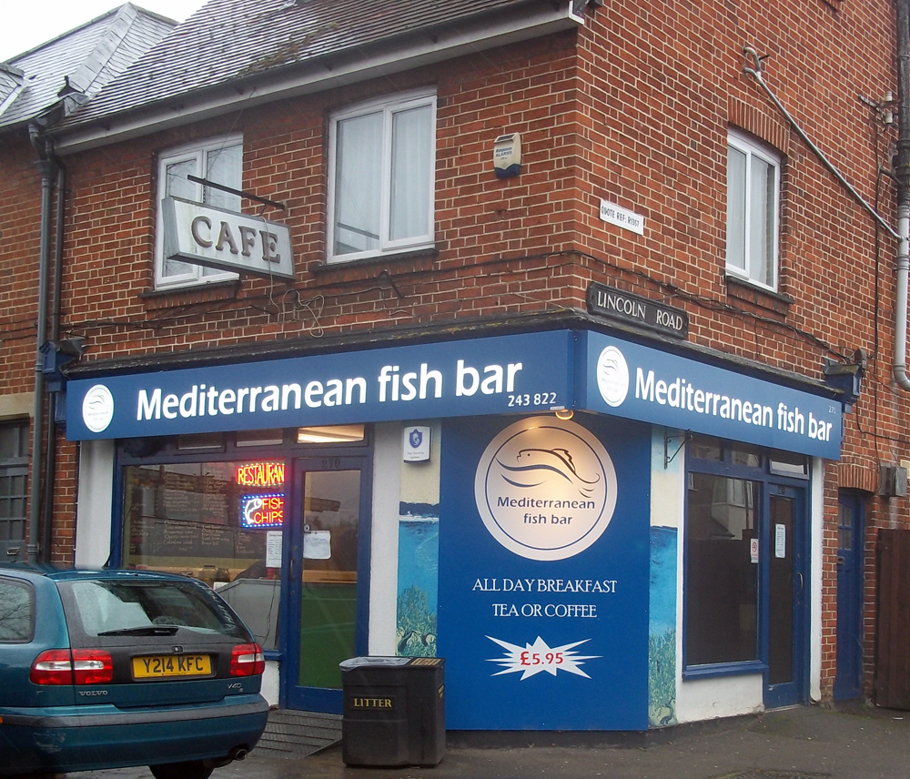 mediterranean fish bar oxford
