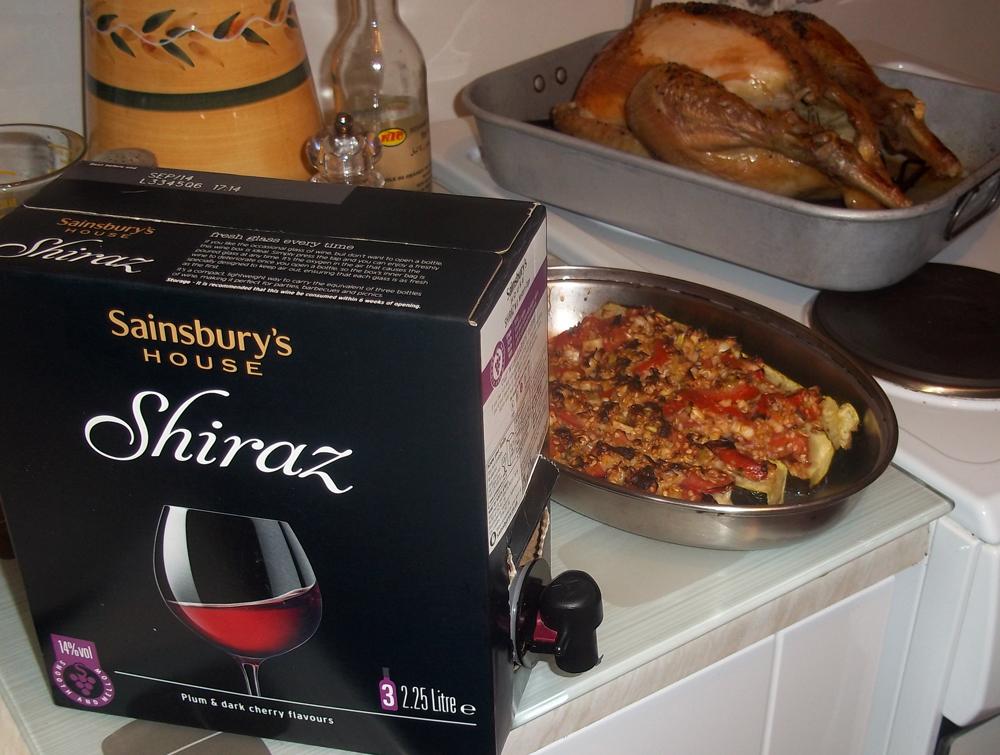 sainsbury's house shiraz box