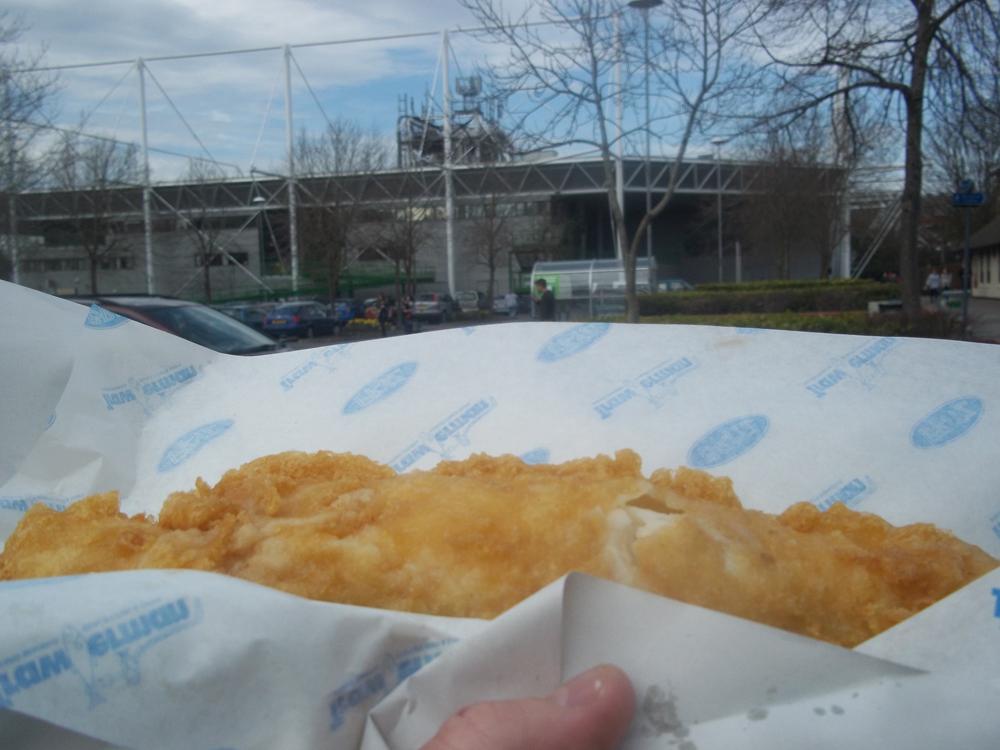 Britz Fish and Chips Swindon cod