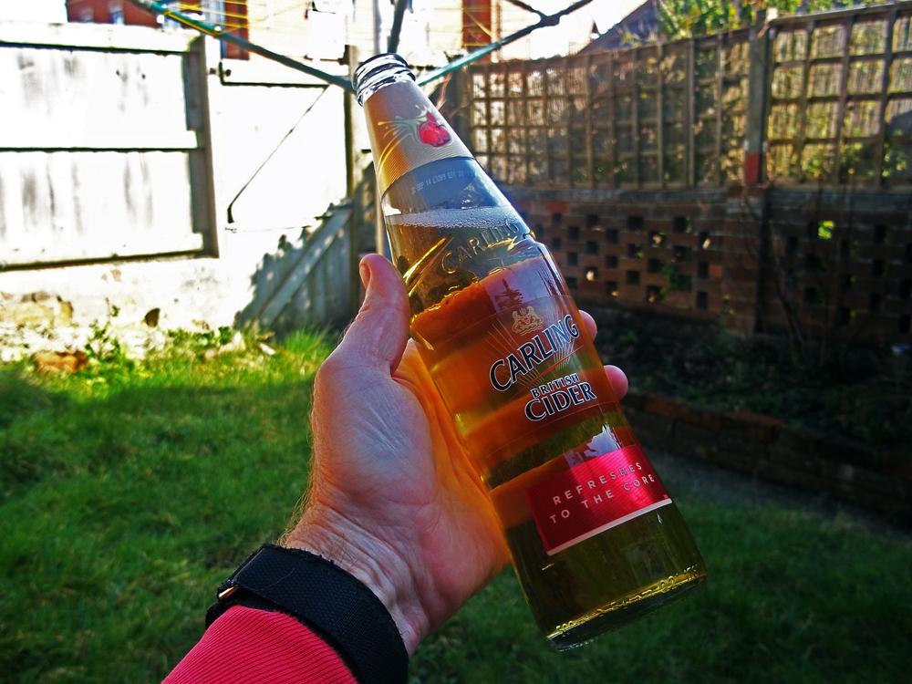 Carling cider garden