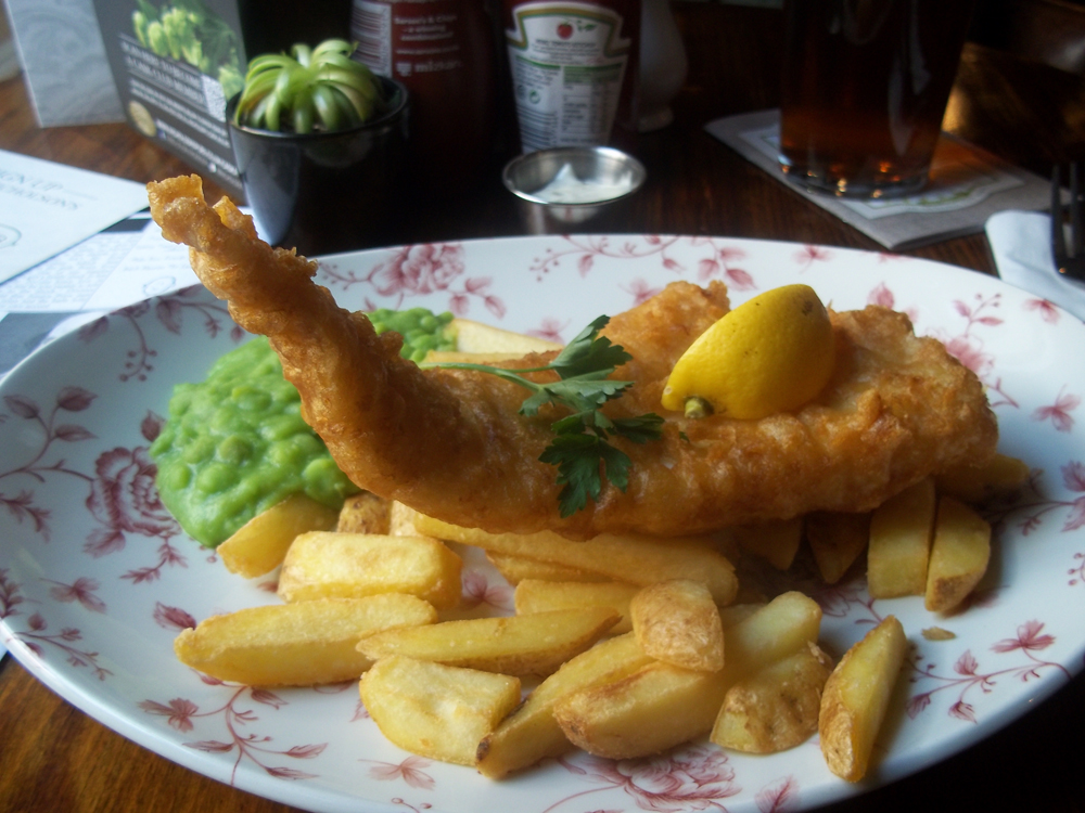 Crown Oxford cod and chips