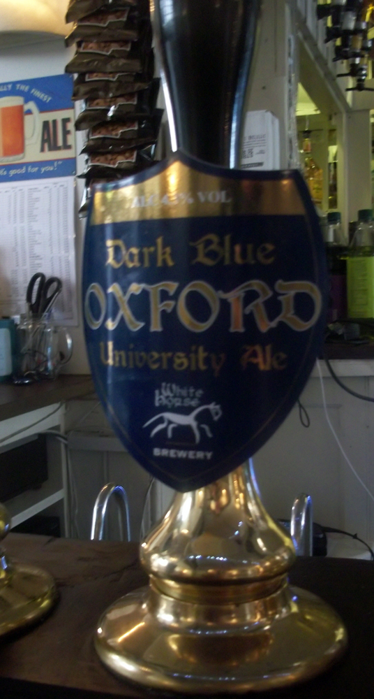 Dark Blue Oxford University Ale
