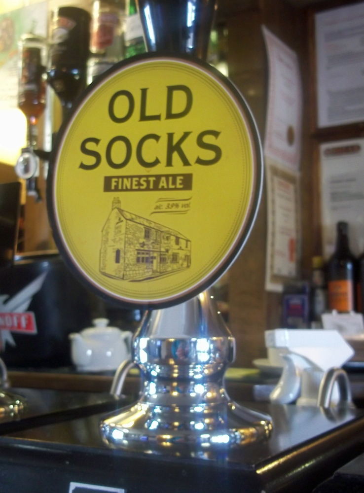 Old Socks pump clip