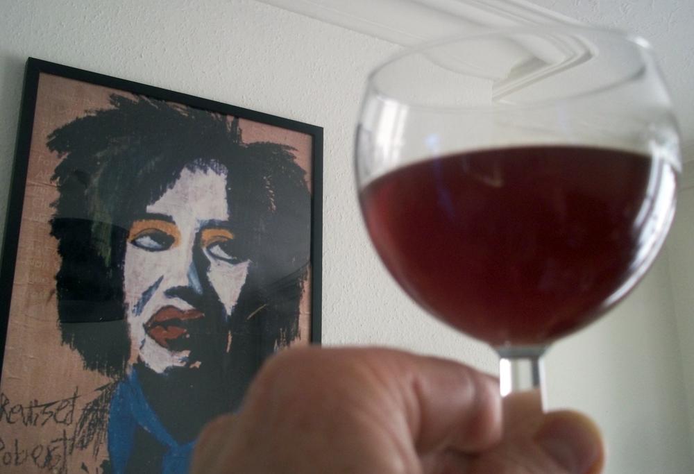 2014-04-14 sloe gin taste test