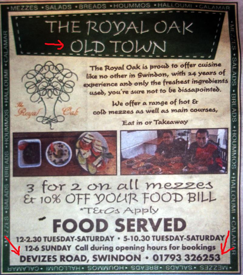 2014-04-25 royal oak new advert