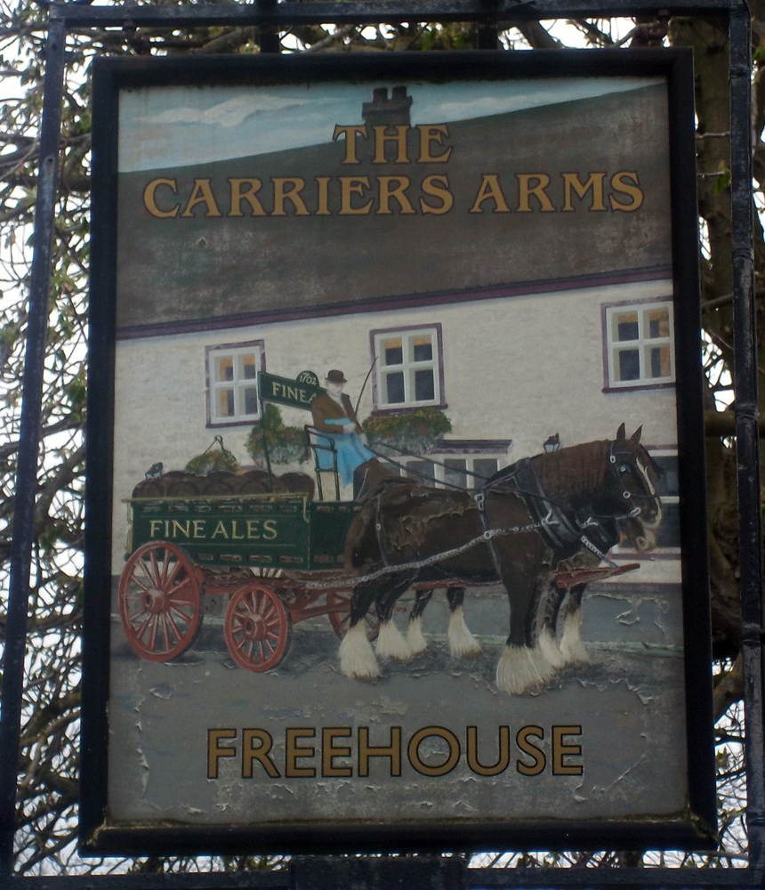 carriers arms watlington sign