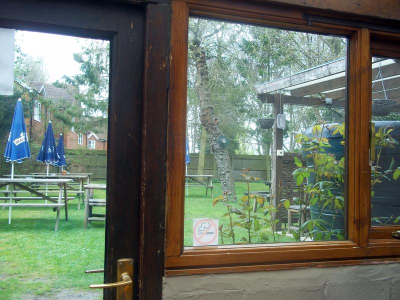 chequers watlington garden exit