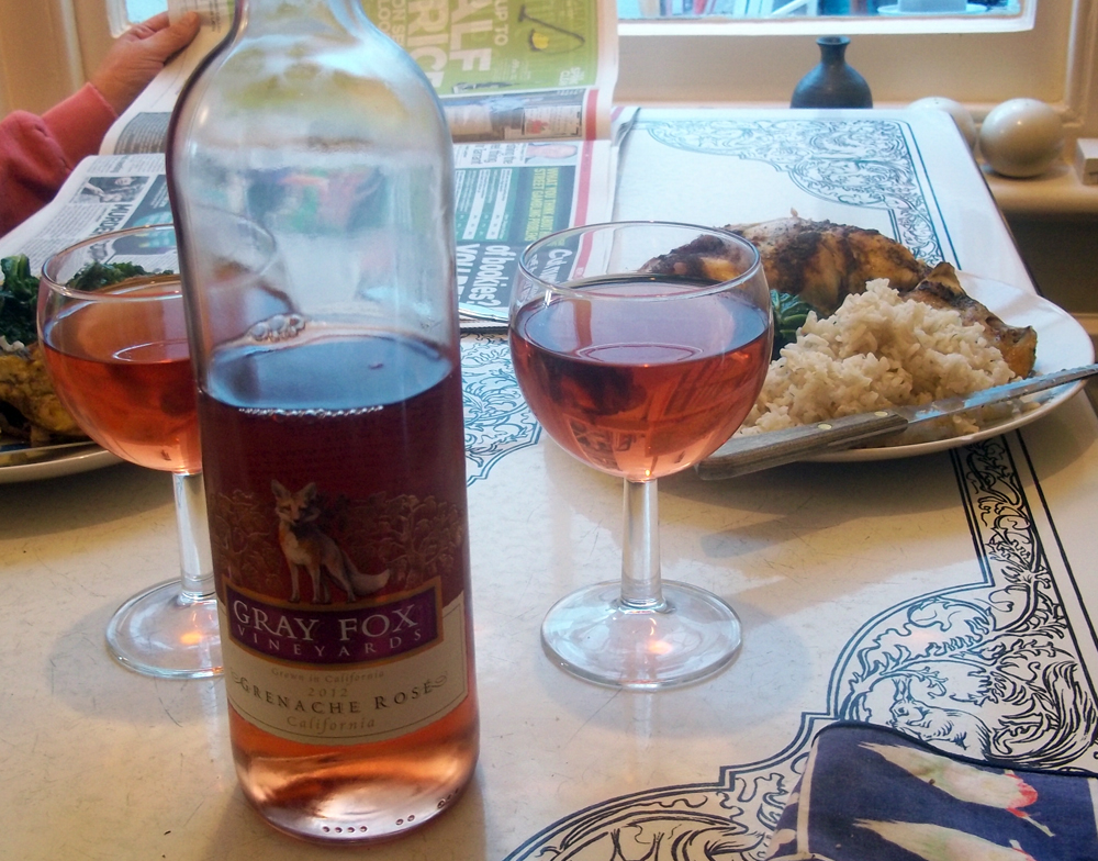 Grey Fox Grenache Rose